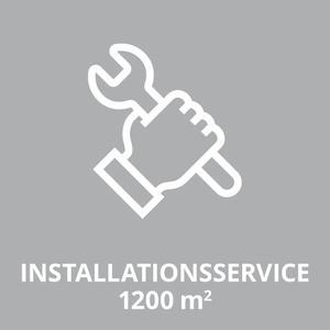Productimage O-SERVICE Installationsservice-1200qm;DE