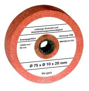 Productimage Bench Grinder Accessory Grinding wheel 75x10x20mm G120
