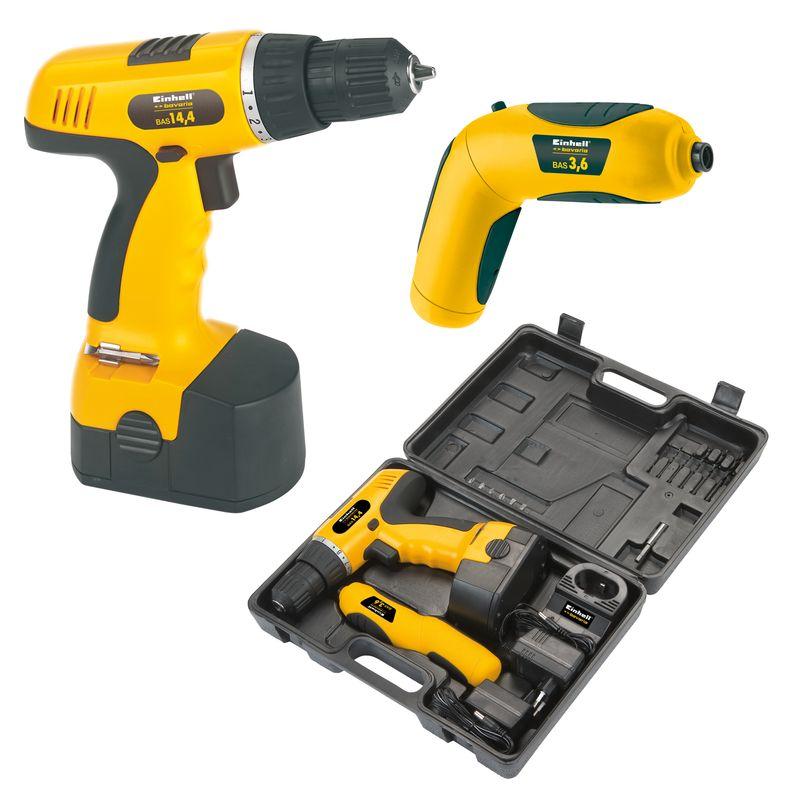 Productimage Cordless Drill Kit BAS 14,4 + 3,6 Set