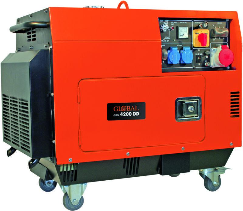 Productimage Power Generator (Diesel) GPG 4200DD; EX; Zgonc
