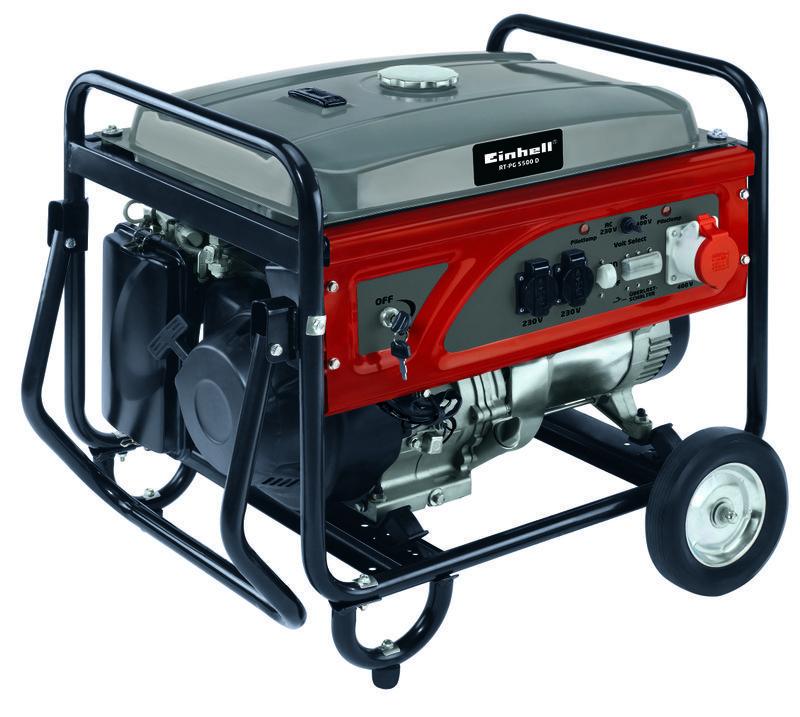 Productimage Power Generator (Petrol) RT-PG 5500 D; EX; CZ