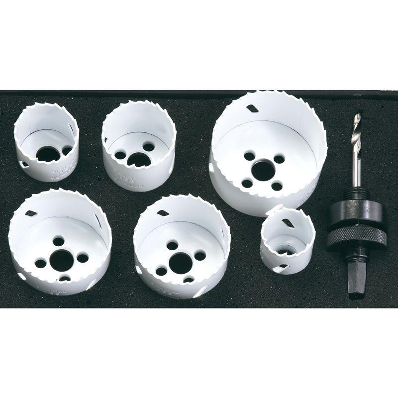 Productimage Power Tools Accessory Bi-metal hole saw, 9 pcs