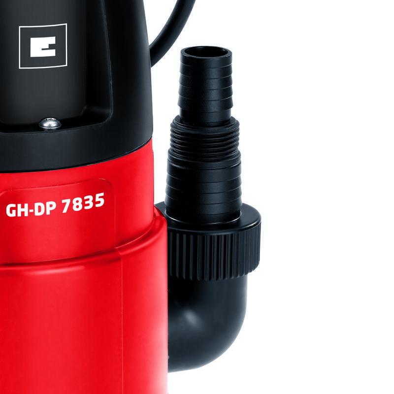 Bomba de aguas sucias gh dp 7835 einhell - Bombas de agua sucias ...
