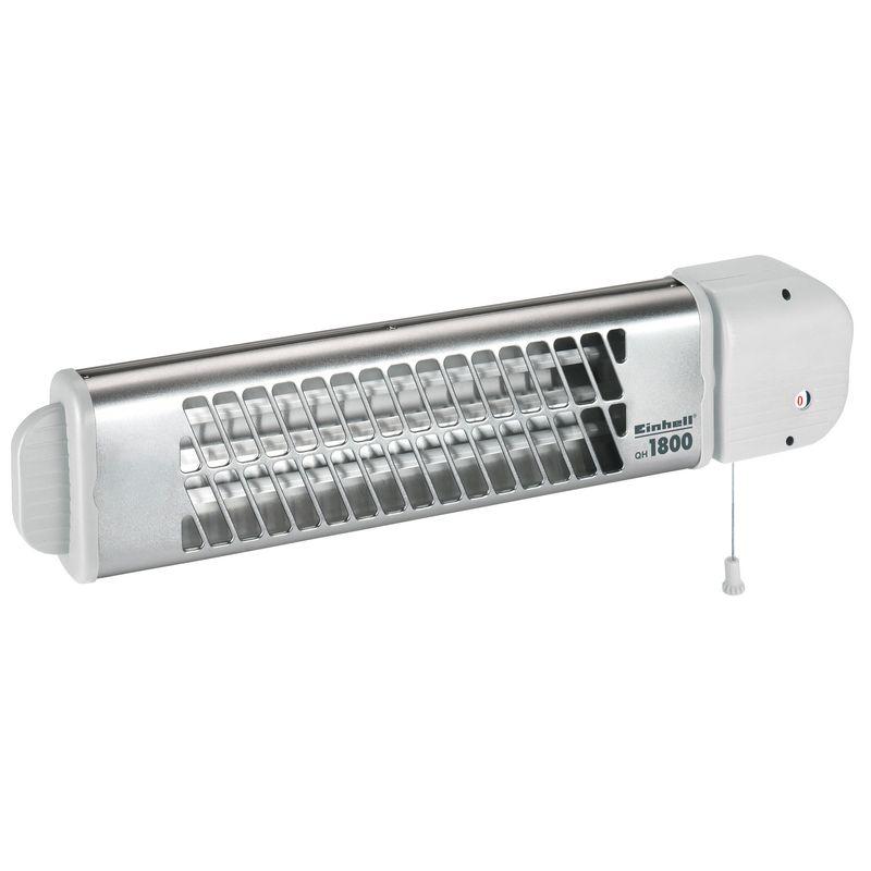 Quartz heater qh 1800 einhell for Chauffage salle de bain infrarouge