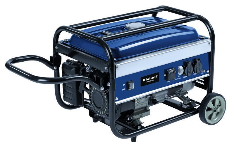 Power generator petrol bt pg 3100 1 einhell for Generatore di corrente bricoman
