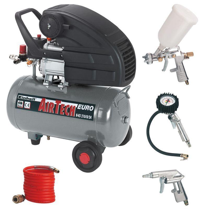 Productimage Air Compressor Kit N-KS 210/8/24 Set