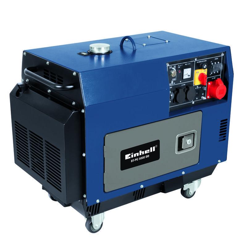 Power Generator Diesel Bt Pg 5000 Dd Einhell