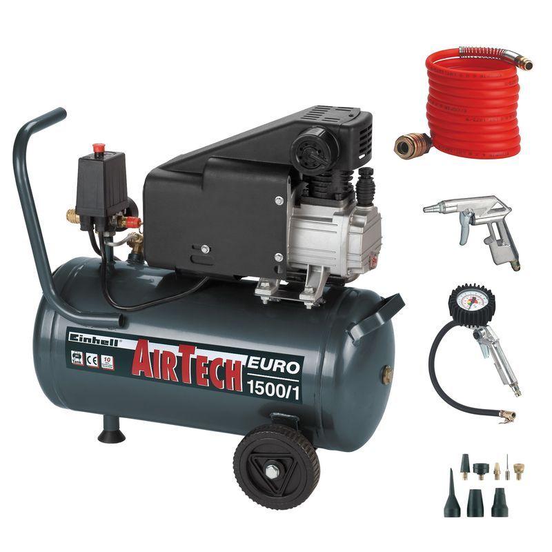 Productimage Air Compressor Kit EURO 1500/1 - 11pcs. kit