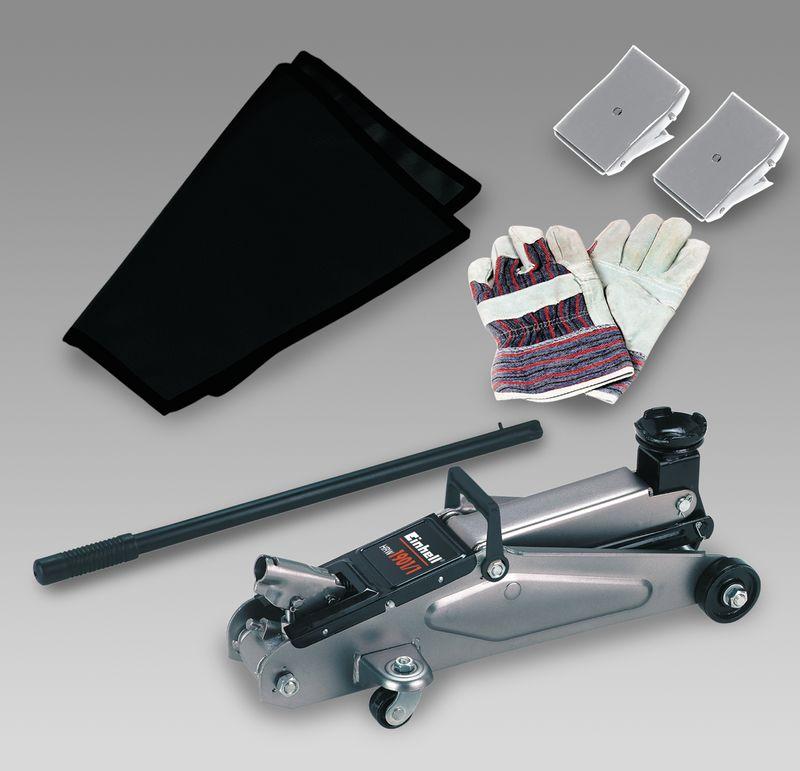 Productimage Trolley Jack HRW 1901/1 Set im Koffer