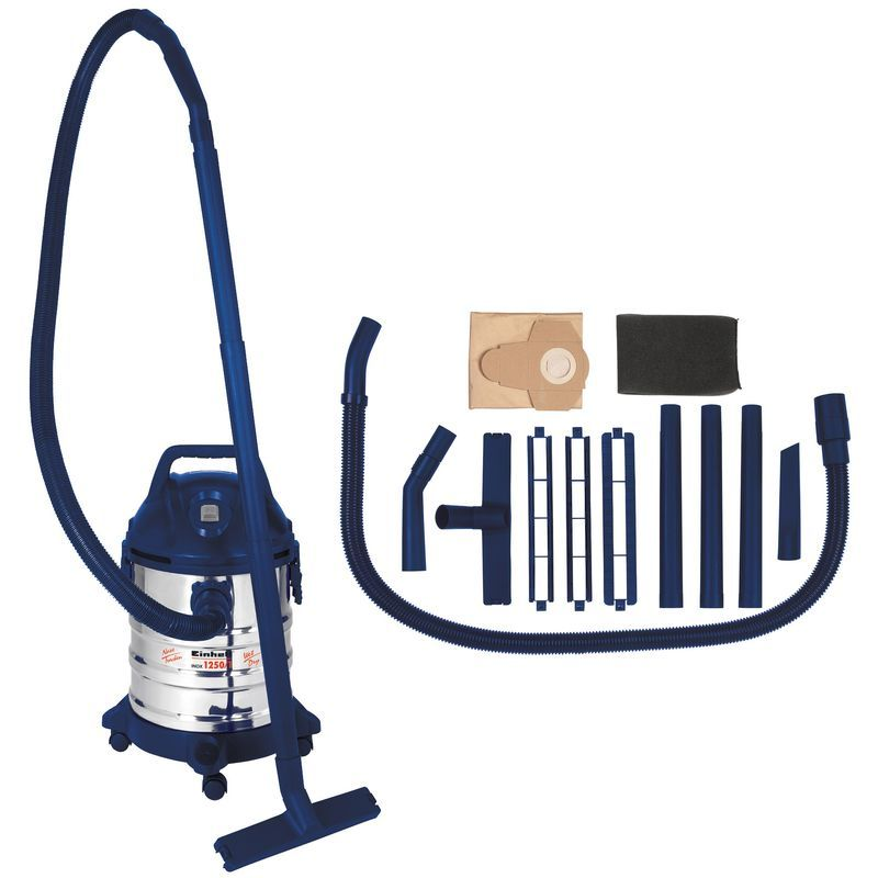 Productimage Wet/Dry Vacuum Cleaner (elect) INOX 1250/1
