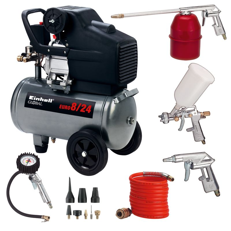 Productimage Air Compressor Kit EURO 8/24 Set; Global