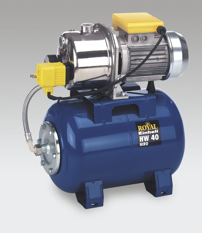 Productimage Water Works HW 40 Niro Hauswasserwerk