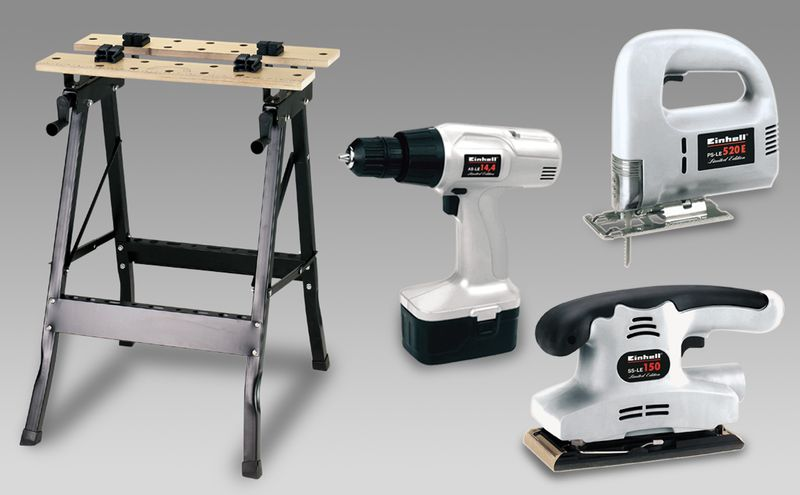 Productimage Power Tool Kit Woodmaster Set; EX; DK