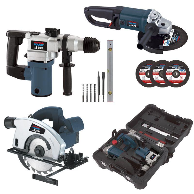 Productimage Power Tool Kit HS-Set 1200