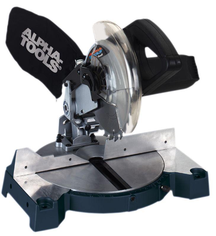 Productimage Mitre Saw KS 210/2 Profi   Alpha Tools