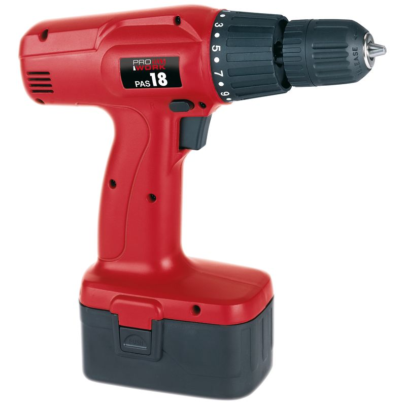 Productimage Cordless Drill Kit PAS 18 Laser
