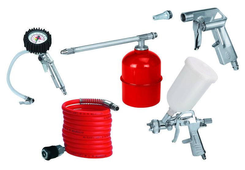 Productimage Air Compressor Accessory accesory set 5 pcs.