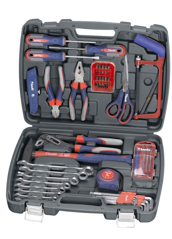 Produktbild Handwerkzeug Werkzeugkoffer 65 tlg.