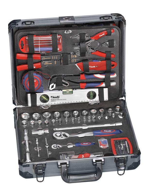 Productimage various Handtools Tool Case, 129 pcs.
