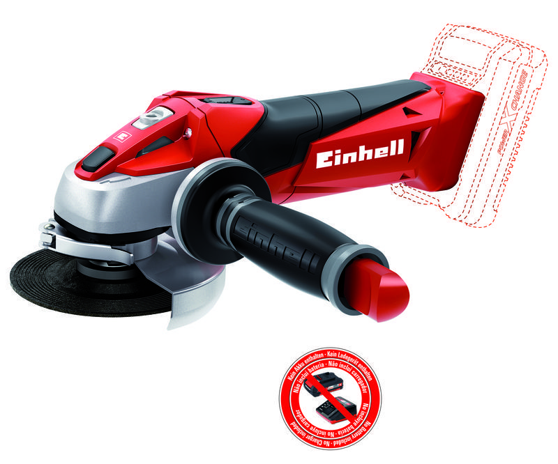 Productimage Cordless Angle Grinder TE-AG 18 Li-Solo