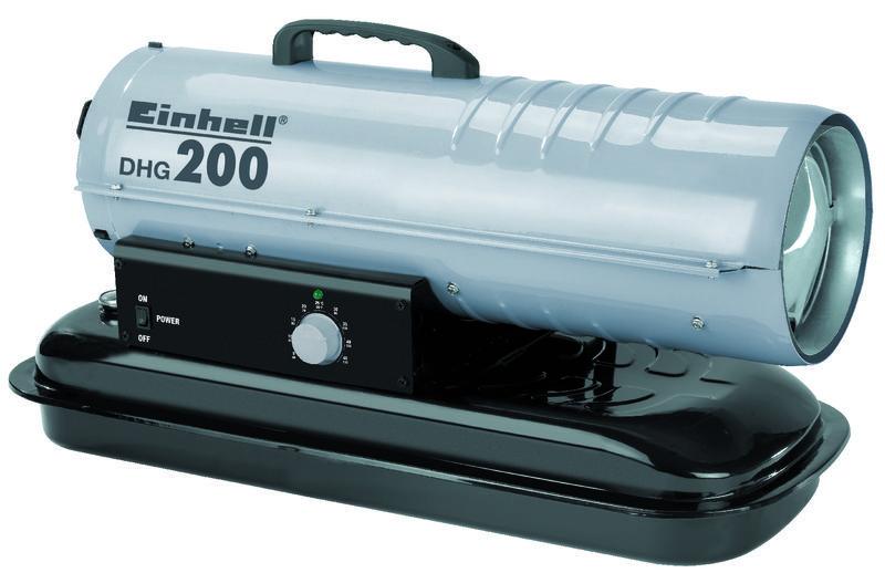 Horkovzdušná turbína (diesel) DHG 200