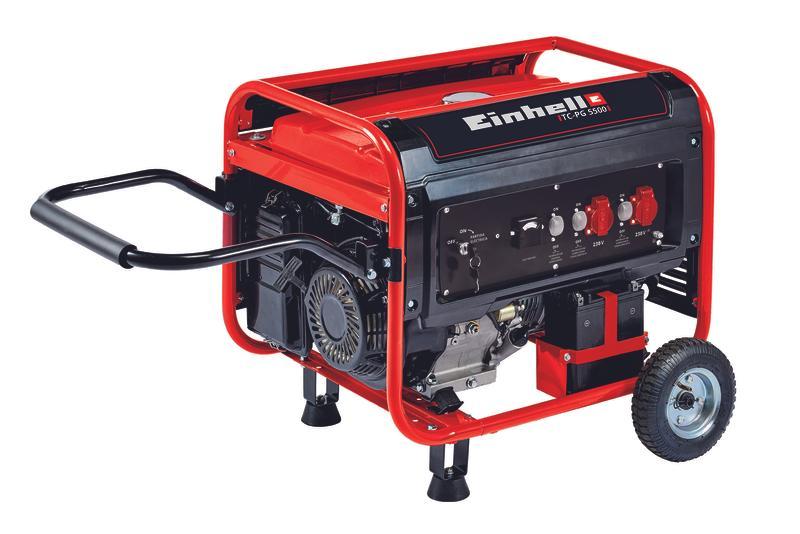 Productimage Power Generator (Petrol) TC-PG 5500; EX; CL