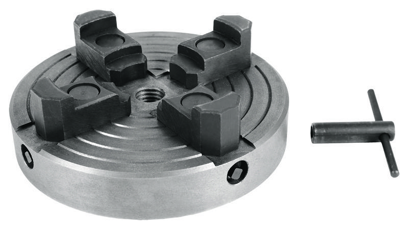 Four-jaw chuck for wood lathe - Woodworking Accessory