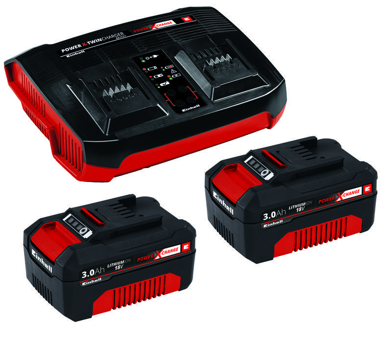 Startovací sada PXC 2x 3,0Ah & Twincharger Kit