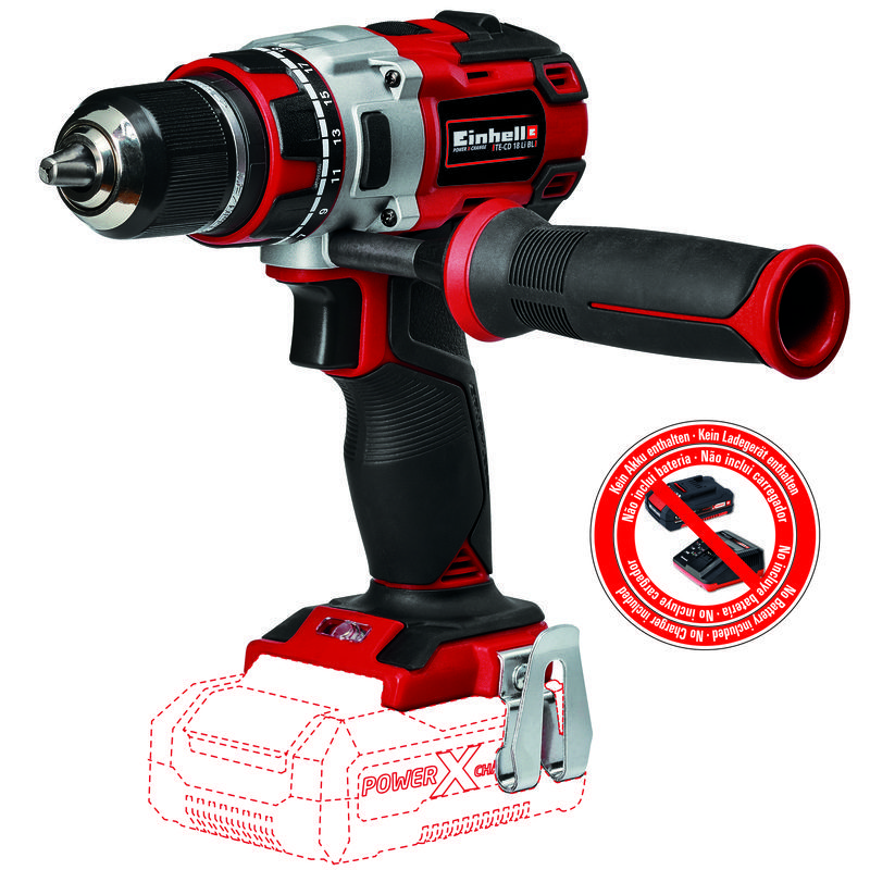 Productimage Cordless Drill TE-CD 18 Li Brushless-Solo