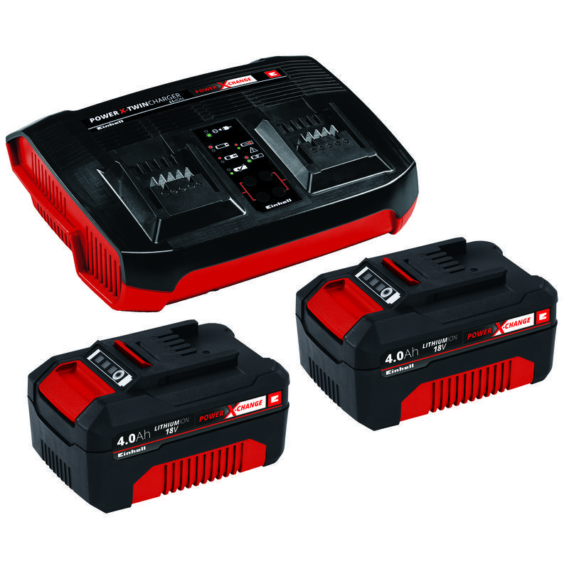 Productimage PXC-Starter-Kit 2x 4Ah Twincharger Kit; EX; BR