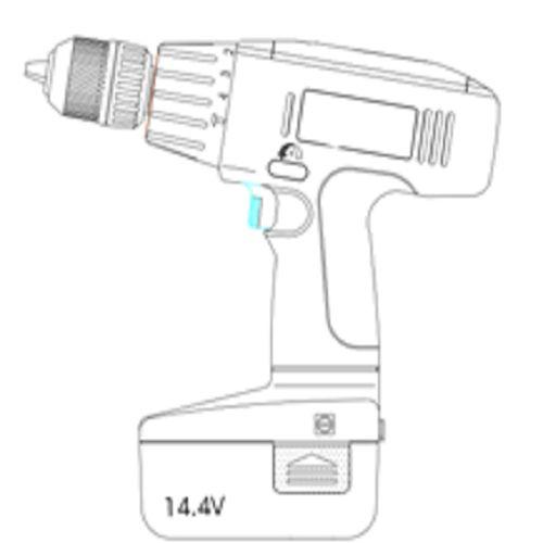 Productimage Cordless Rotary Hammer CHD 14,4