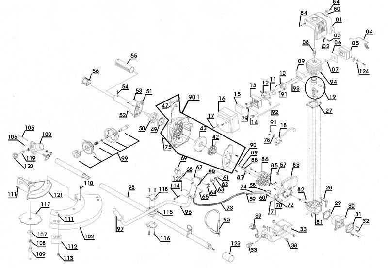 ersatzteile zu pvbs 32 proviel benzin sense. Black Bedroom Furniture Sets. Home Design Ideas