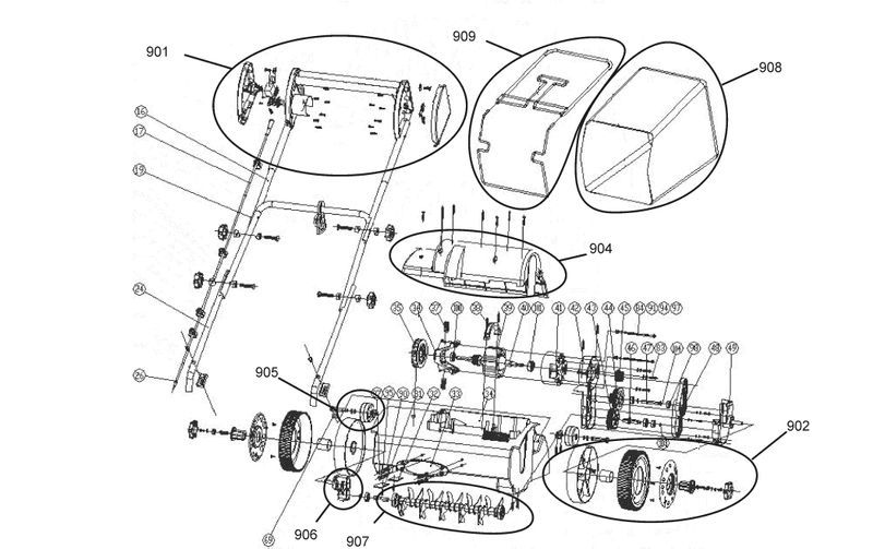 ersatzteile zu tcvk 1202 top craft elektro vertikutierer. Black Bedroom Furniture Sets. Home Design Ideas