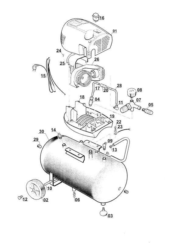 ersatzteile zu bt ac 200 24 of einhell kompressor. Black Bedroom Furniture Sets. Home Design Ideas