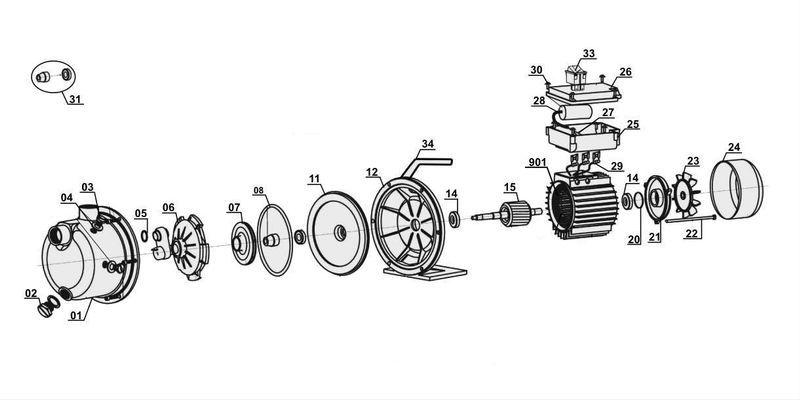 Ersatzteile zu glgp 1002 gardenline gartenpumpe - Einhell gartenpumpe anleitung ...