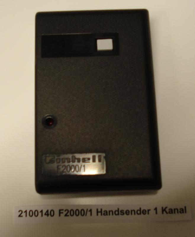 Productimage Power Tools Accessory F2000/1 Handsender 1Kanal