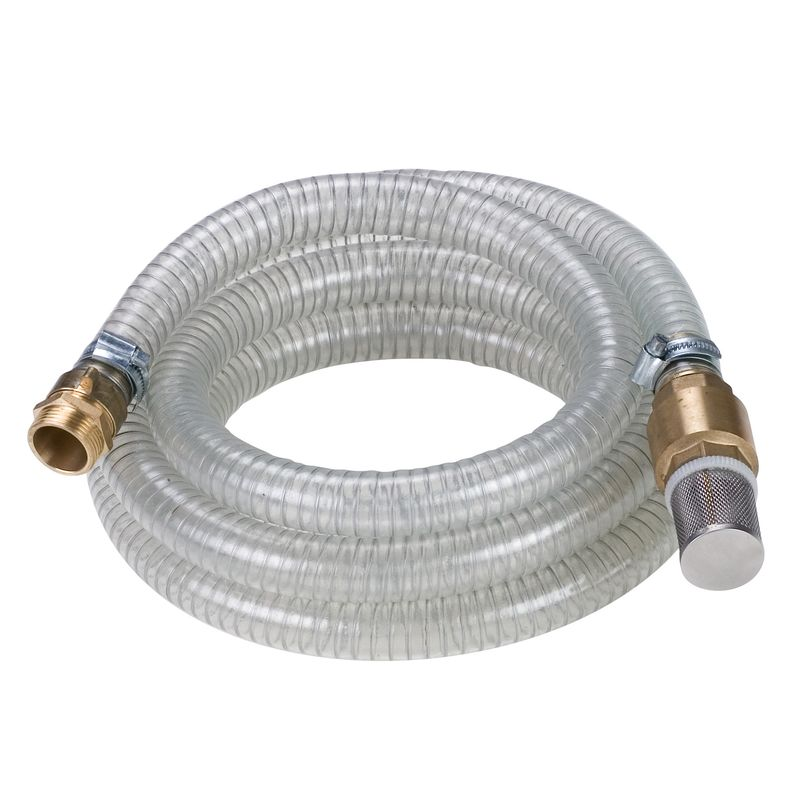 Productimage Pump Accessory Suction hose 4 m, brass