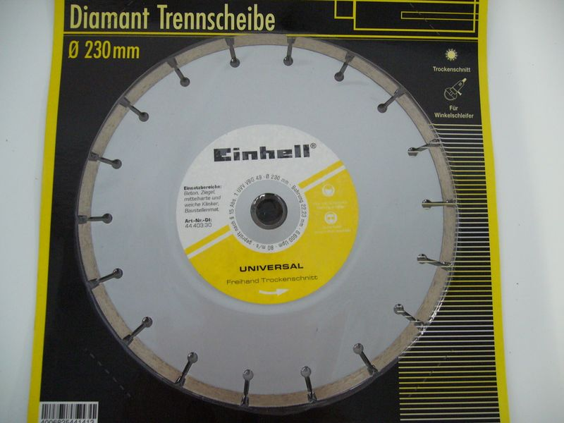 Productimage Angle Grinder Accessory Diamond Cutting Disc