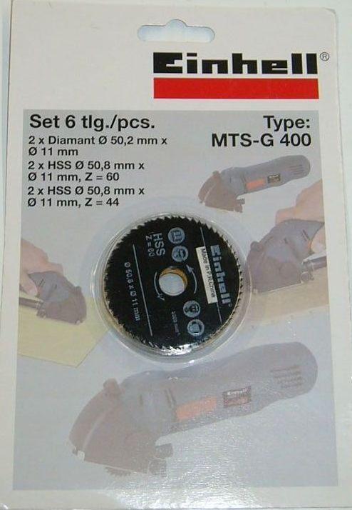 Productimage Mini Circular Saw Accessory Sägeblattsatz 6tlg f.BT-CS 500