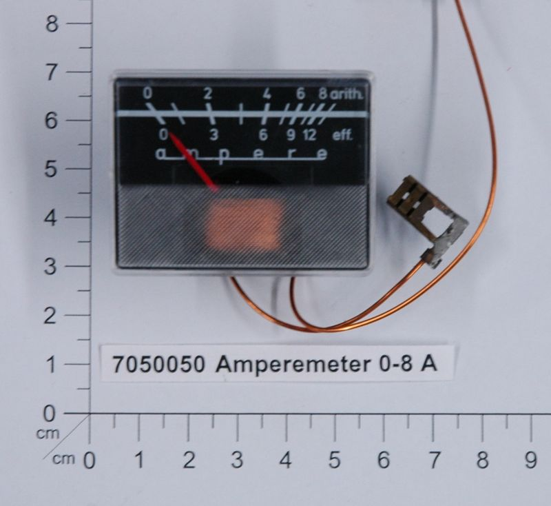Productimage  Amperemeter 0-8 A