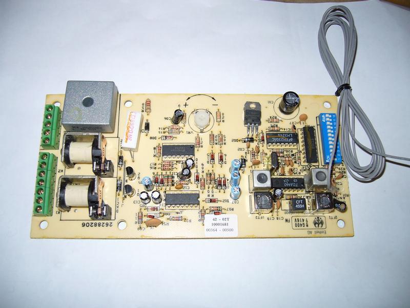 Productimage  control board cpl.