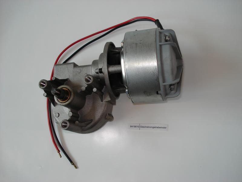 Productimage  Gleichstromgetriebemotor