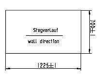doppelstegplatte ersatzeil zu stegplatten 4 mm. Black Bedroom Furniture Sets. Home Design Ideas