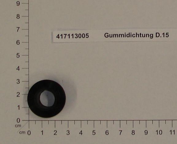 Productimage  Gummidichtung D.15