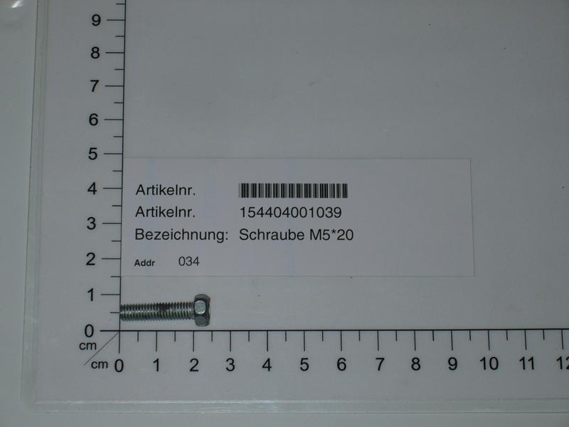 Productimage  screw M4X12