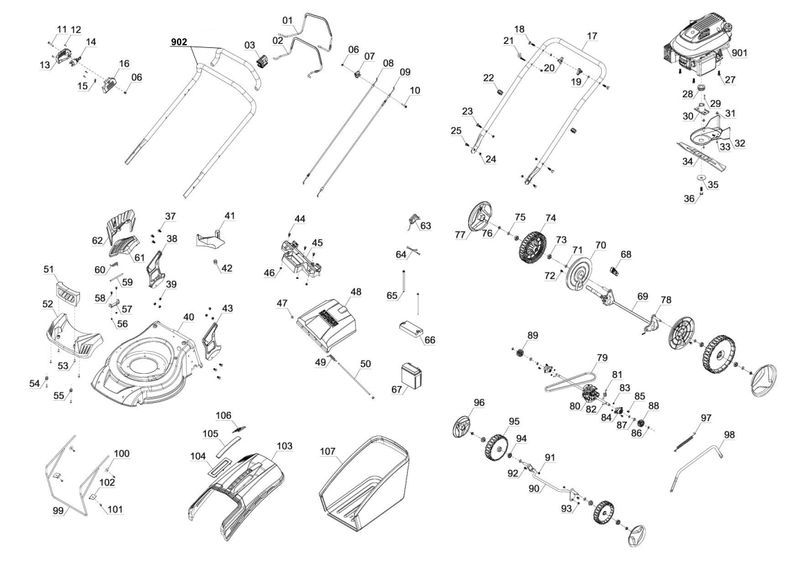 Einhell Ersatzmesser GC-PM 53 S HW-E