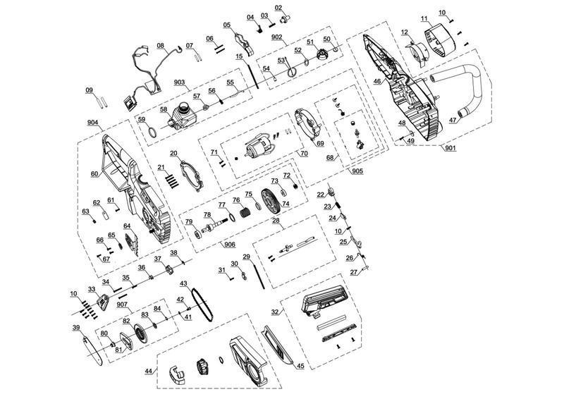Einhell Ersatzkette GC-LC 18 Li Kettensägen-Zubehör