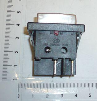 Productimage  rocker switch 2-pole/4 contact