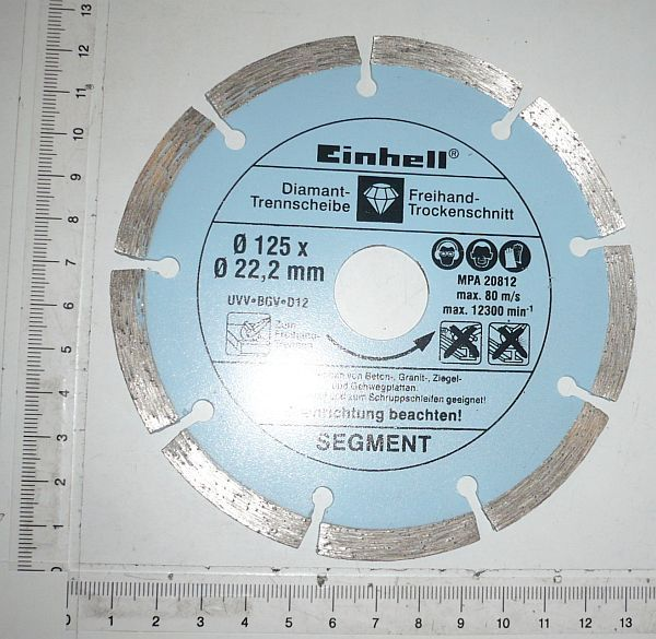 Productimage  Segment cutting disc