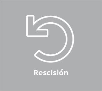 Instrucciones de rescisión